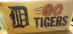 Detroit Tigers Lucite Go Tigers License Plate