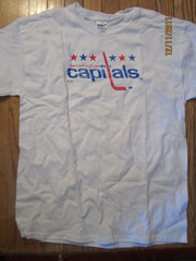 Washington Capitals Old Logo T Shirt Large Bud Canada Promo New