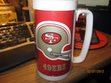San Francisco 49ers Vintage Tall Plastic Helmet Logo Beer Mug By Thermos