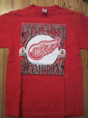 Detroit Red Wings 1997 Stanley Cup Champions T Shirt Large By Logo 7