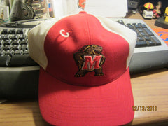 Maryland Terrapins Logo 7 3/8 Fitted Hat Top Of The World