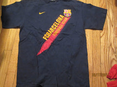 Barcelona Football Club Logo T Shirt Large By Nike BARCA