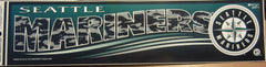 Seattle Mariners 1997 Logo Bumper Sticler