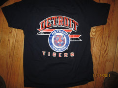 Detroit Tigers 1988 Vintage T Shirt Large Champion