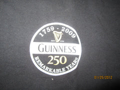 Guinness Stout 250th Anniversary T Shirt Large Ireland Beer Irish