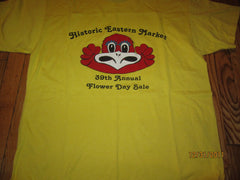 Detroit Historic Eastern Market 39th Flower Day T Shirt XL