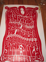 Black Angels Warlocks US Tour Poster Heavy Stock