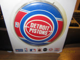"Detroit Pistons Old Logo W/O Name 3 1/2"" Pin Mint On Card"