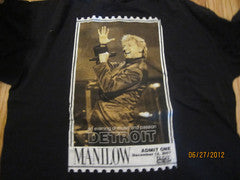 Barry Manilow 2007 Detroit Show T Shirt XL Palace Auburn Hills