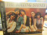 "ROLLING STONES ""Quote Unquote"" 1996 Harcover UK Book 80 Pages"