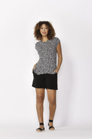 Betty Basics - Zadar Tee - Brush Print