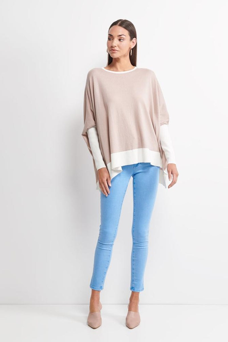 Imonni Melbourne - Ellma Knit Sweater - Dove Grey