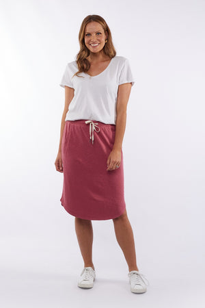 Elm - Fundamental Isla Skirt - Deep Rose