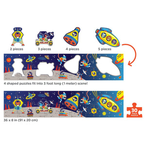 Mudpuppy - My Very Long Puzzle - Outer Space Puzzle