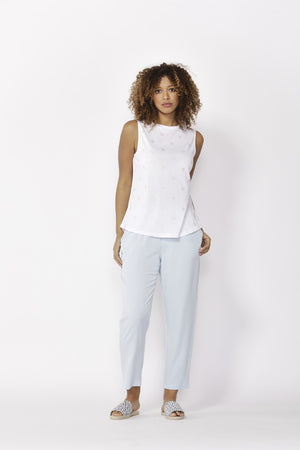 Betty Basics - Capri Tank - White
