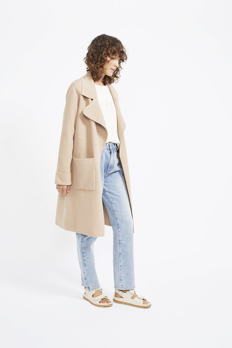 Staple - Aria Coat - Camel