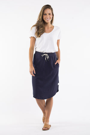 Elm - Fundamental Isla Skirt - Navy