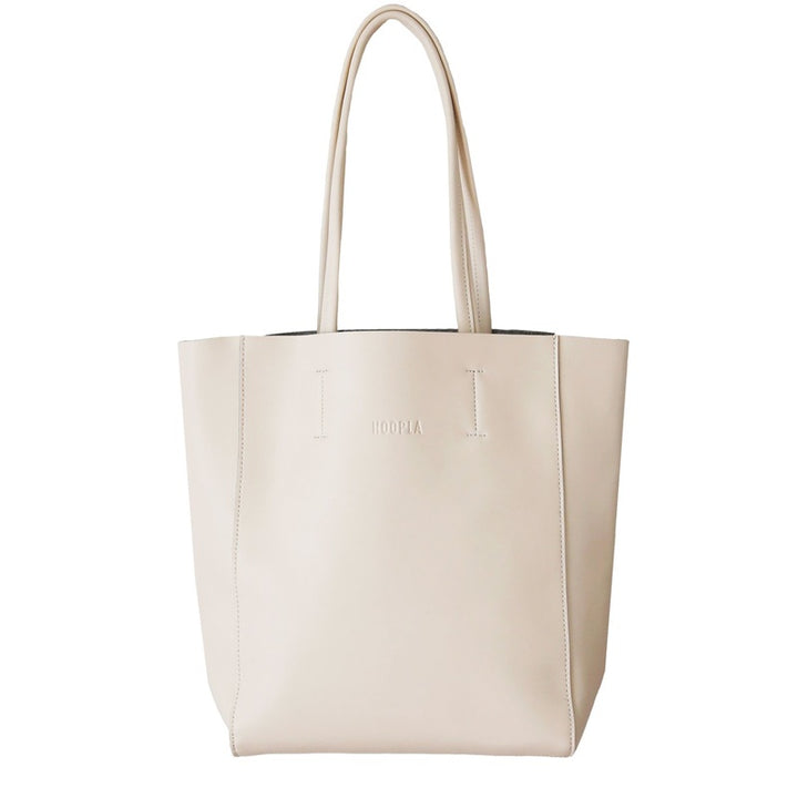Hoopla - Large Portrait Tote - Cream