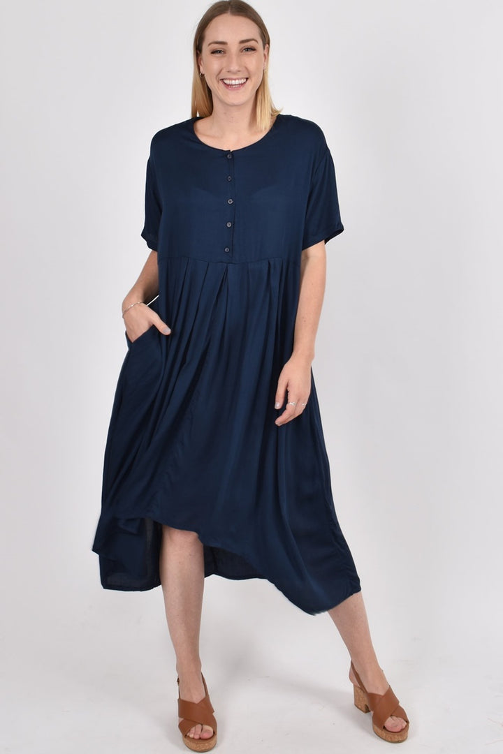 PQ Collection - Everyday Dress - Navy