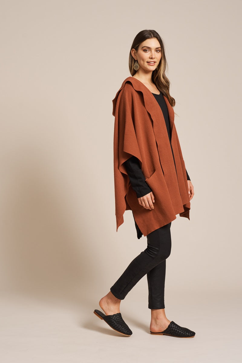 Eb & Ive - Ita Cape - Terracotta