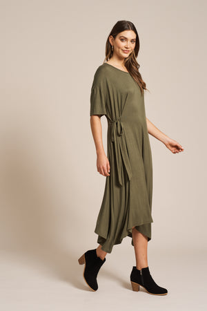 Eb & Ive - Oprah Dress - Moss