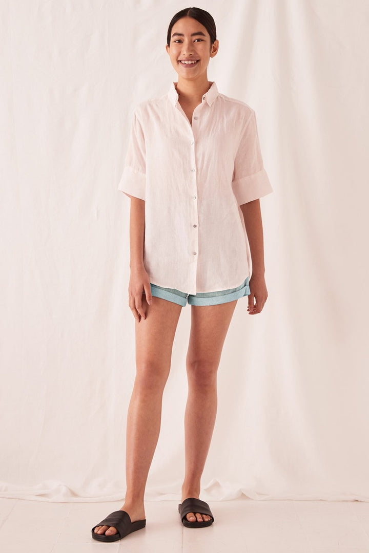Assembly Label - Short Sleeve Shirt - Pink Dew