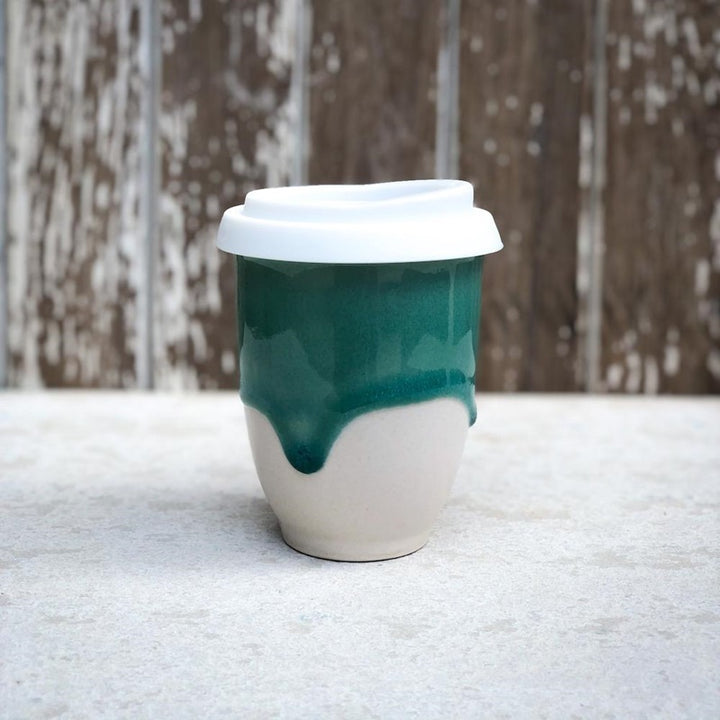 Pottery for the Planet - Medium 8oz Cup - Glacier