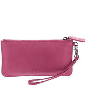 Gabee - Abril Soft Leather Wristlet Purse