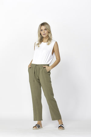 Betty Basics - Watson Pant - Khaki