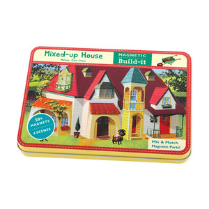 Mudpuppy - Houses Magnetic Building Set