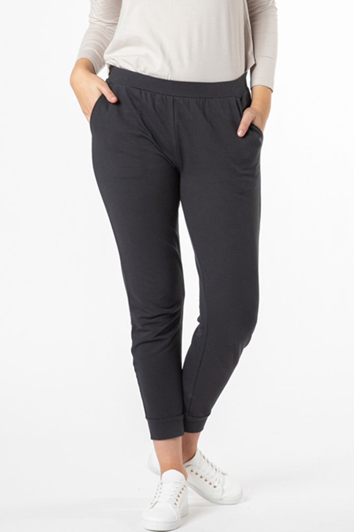Betty Basics - Lindsay Jogger - Gunmetal Grey