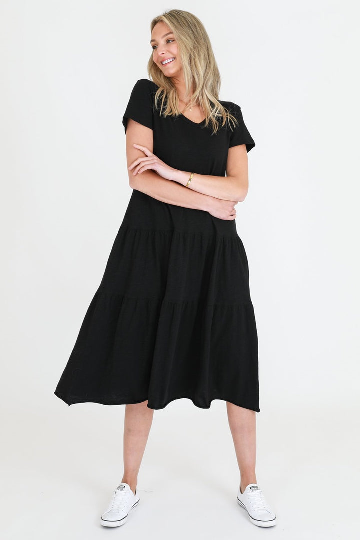 3rd Story - Hazel Dress - Black