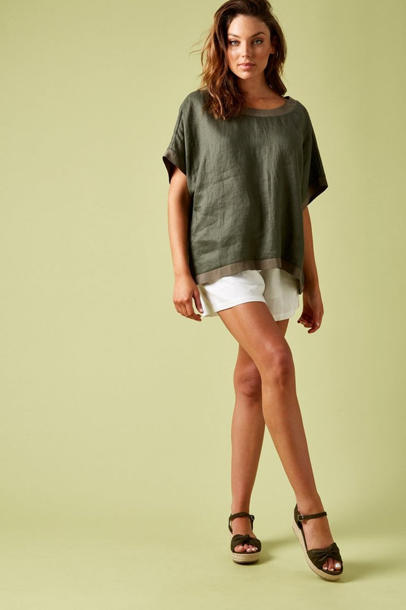 Isle of Mine - Phoenix Top - Khaki