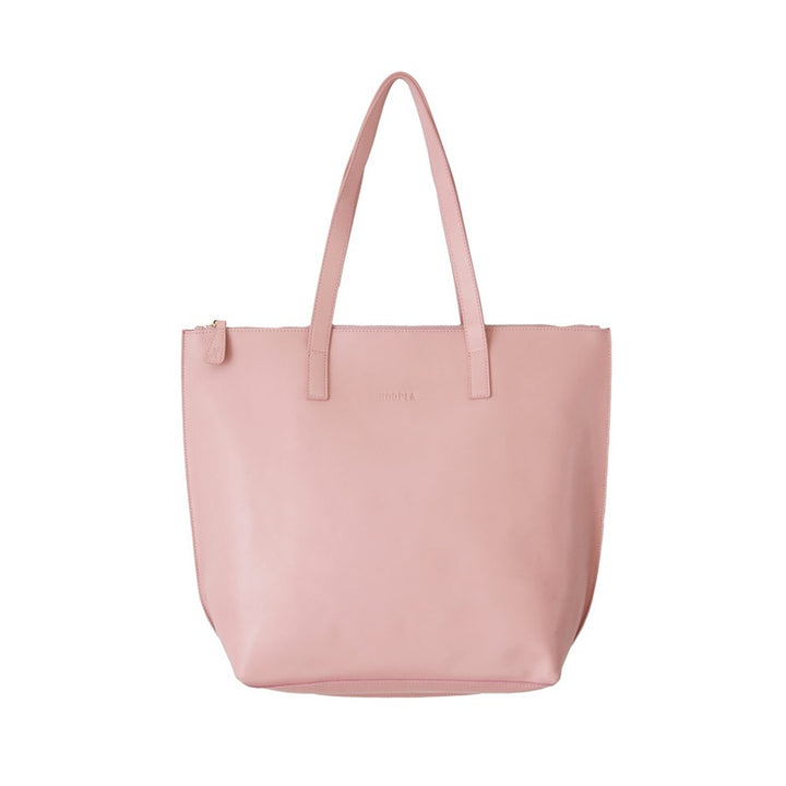 Hoopla - Large Zip Tote - Dusty Pink