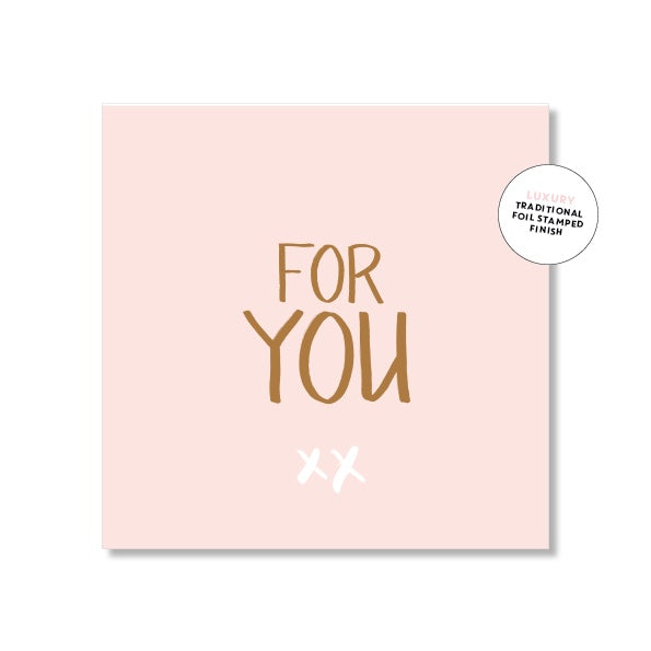 Just Smitten Mini Gift Card - For You....