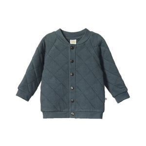 Nature Baby - Barber Jacket - Valley Blue