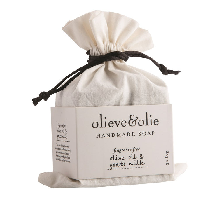 Olieve & Olie - 3 Pack Soap - Olive Oil & Goats Milk