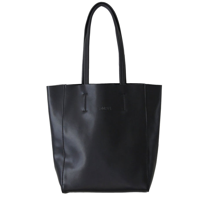 Hoopla - Large Portrait Tote - Black
