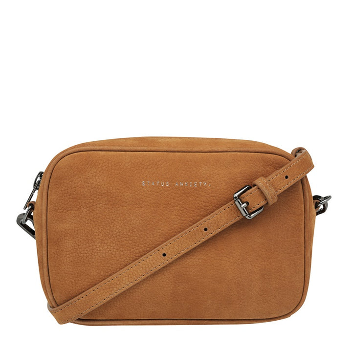 Status Anxiety - Plunder Bag - Tan Nubuck