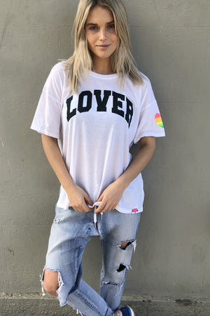Hammill & Co - Lover Crew Tee - White