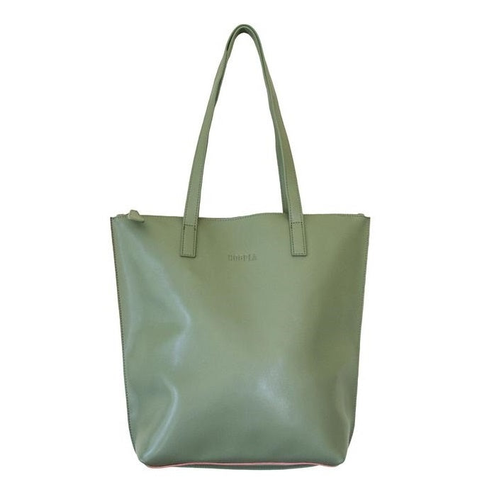 Hoopla - Small Zip Tote - Olive Green