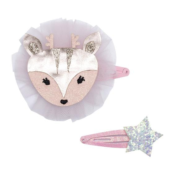 Billy Loves Audrey - Doe Hair Clip Duo