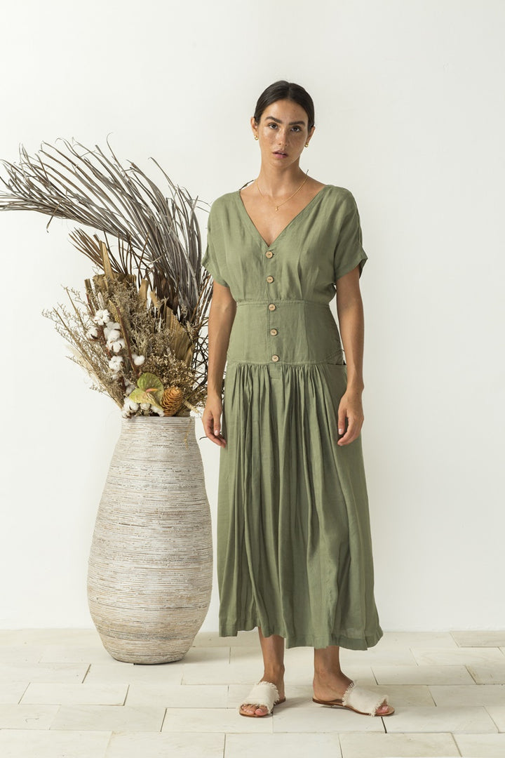 Bird & Kite - Carla Dress - Sage