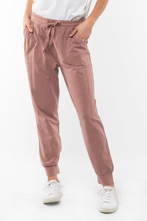 Elm - Wish You Were Here Joggers - Brown