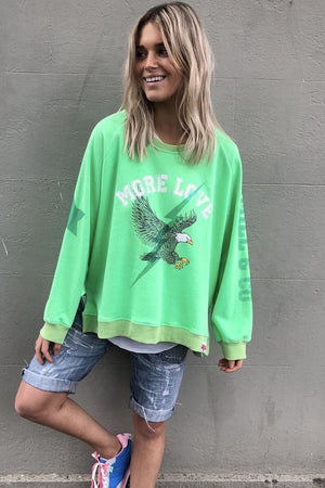 Hammill & Co - Eagle Sweat - Green