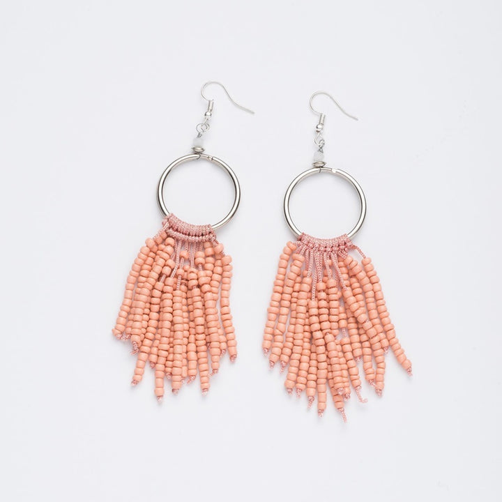 Stilen - Maya Peach Earrings