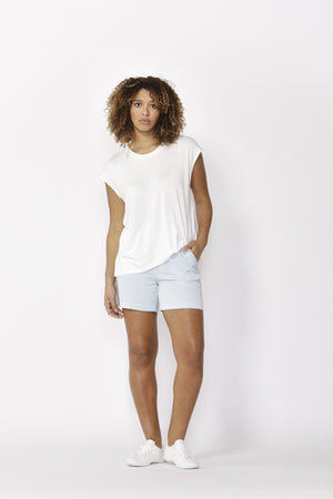 Betty Basics - Zadar Tee - White