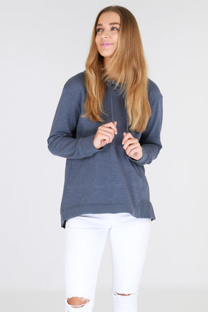 3rd Story - Kendall Sweater - Steel Blue