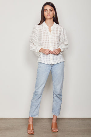 Wish - Mindless Blouse - White