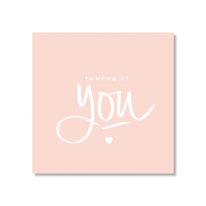 Just Smitten Mini Gift Card - Thinking of You...